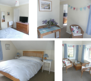 Ensuite Double Room with Private Sitting Room